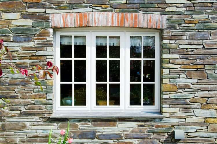 Traditional Timber Window in White