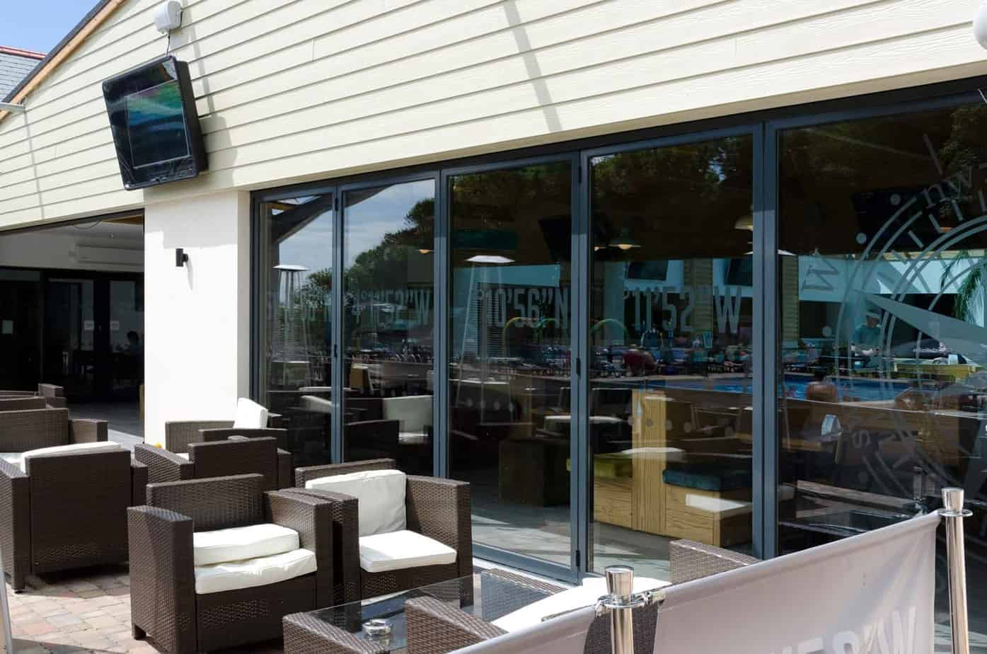 commercial Alumium folding doors