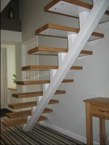 Timber Step Stairs