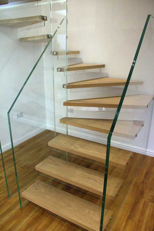 Superbe Timber U0026 Glass Stairs