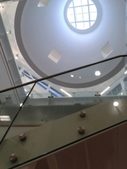 Point Fixed Glass Balustrade