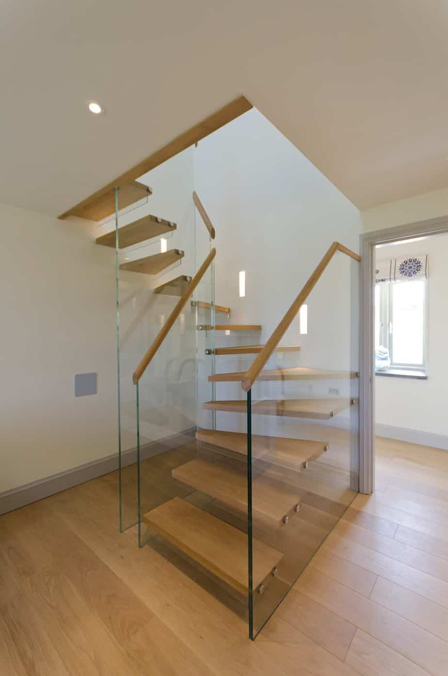 Timber & Glass Staircase