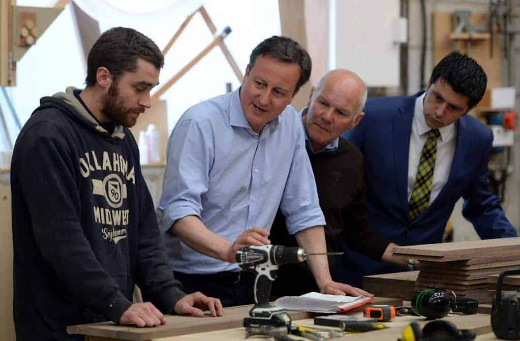 David Cameron With Cameron Group