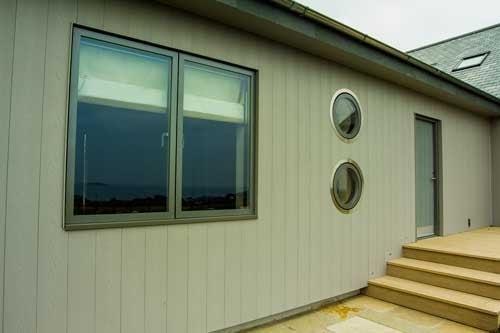 Green timber windows