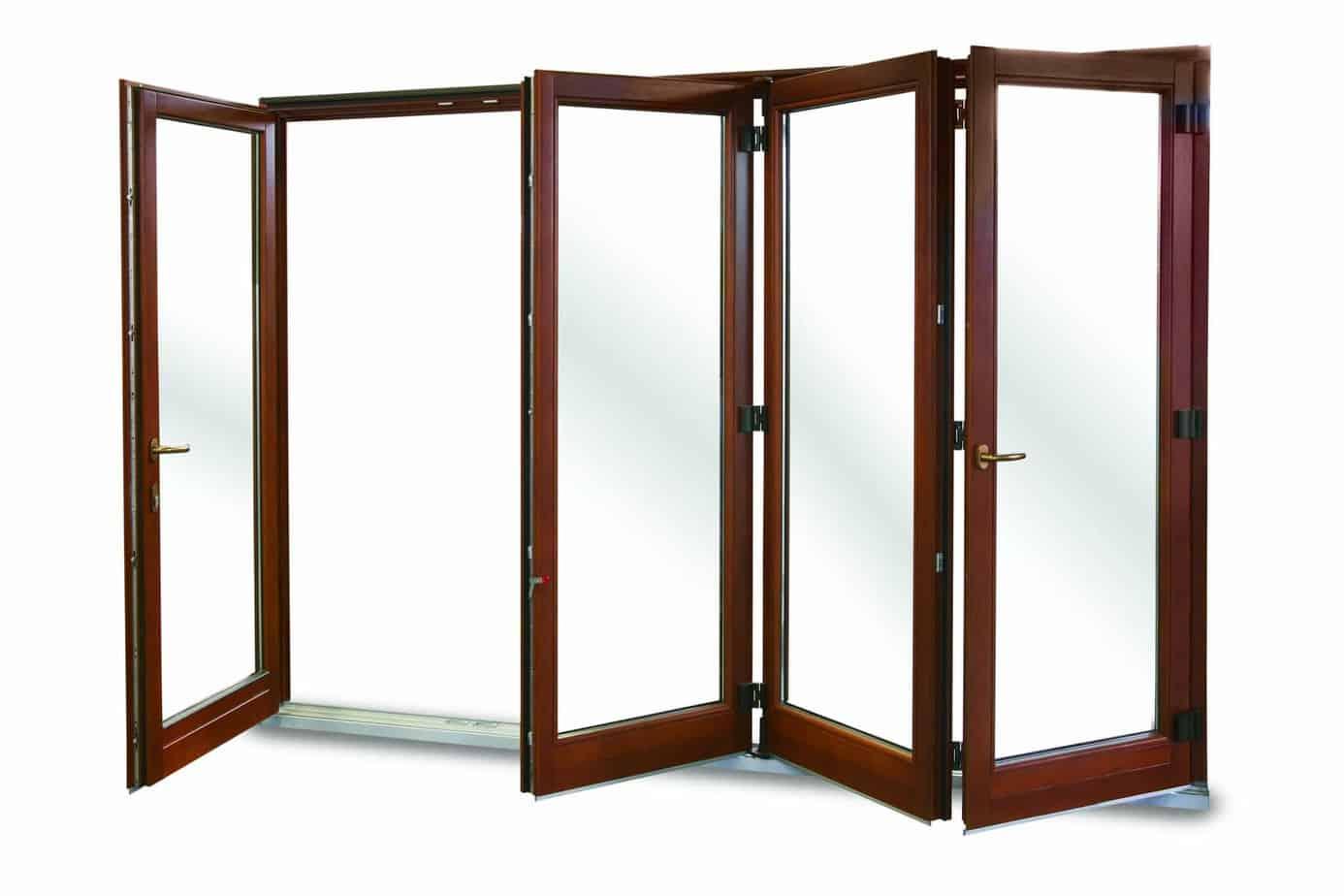 Composite bi fold sliding doors camel glass windows for Bi fold sliding glass doors