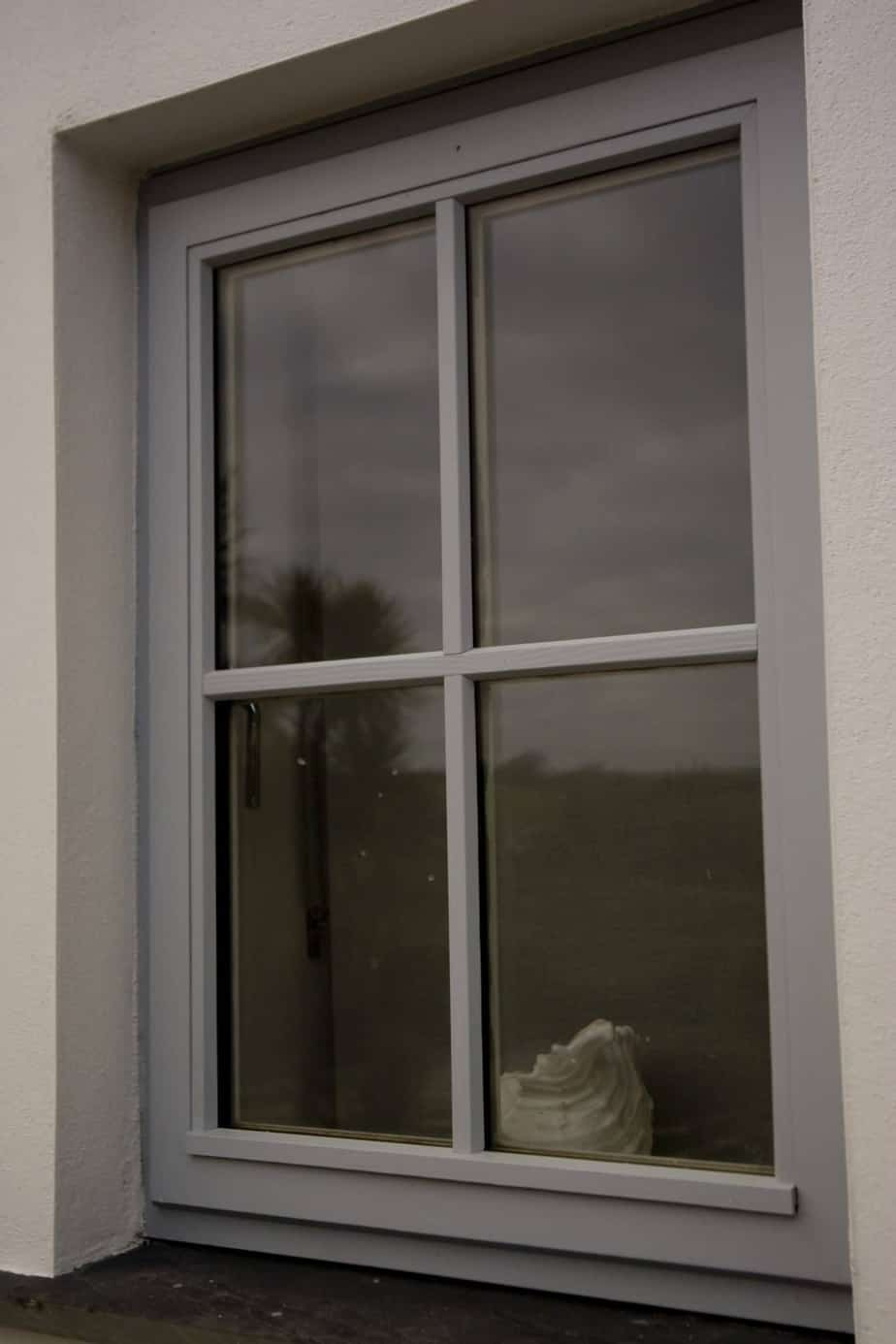 Grey Timber Window