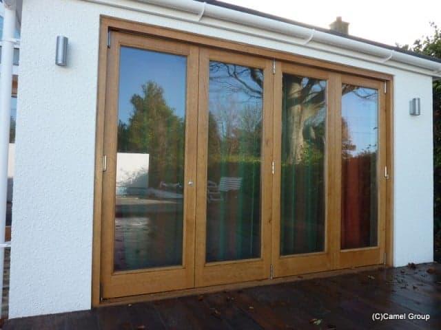 Timber folding doors
