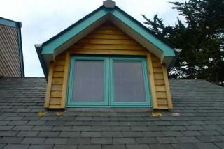 Green Upvc Windows
