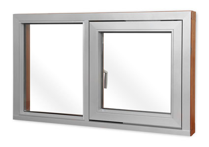 White Composite Window