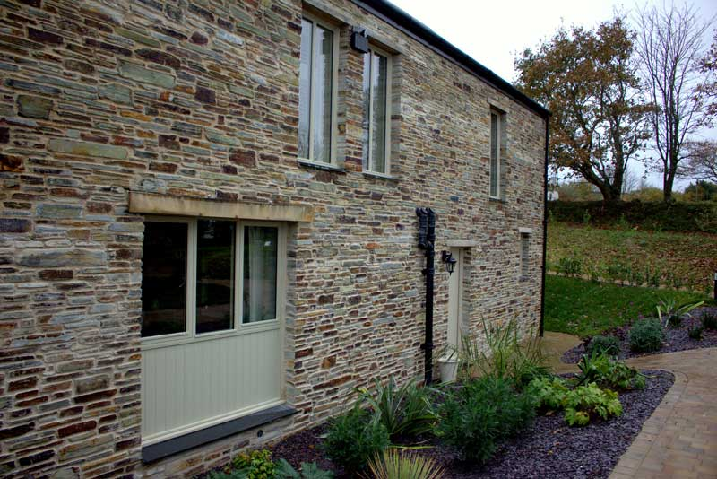Bespoke timber windows in cottage