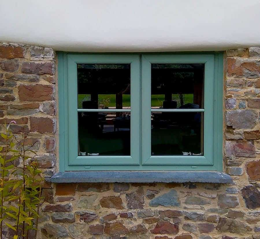 Green Timber Window