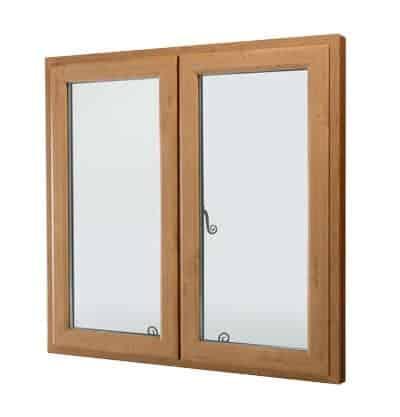 Tmber effect PVCu Window