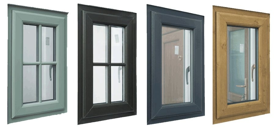 Coloured PVC Windows