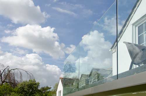 Frameless Glass Balustrade on Balcony