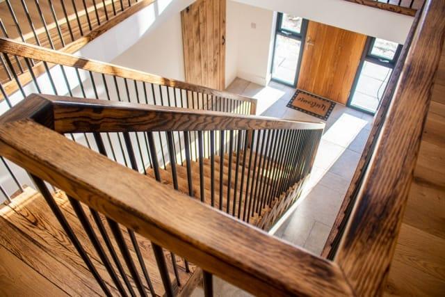 Burnt Oak staircase