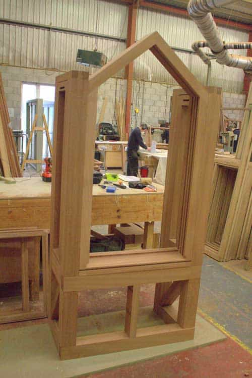 Boxed Timber Window in Joinery