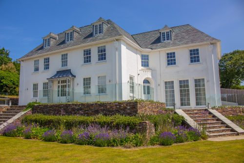 Traditional Timber Windows in Large House
