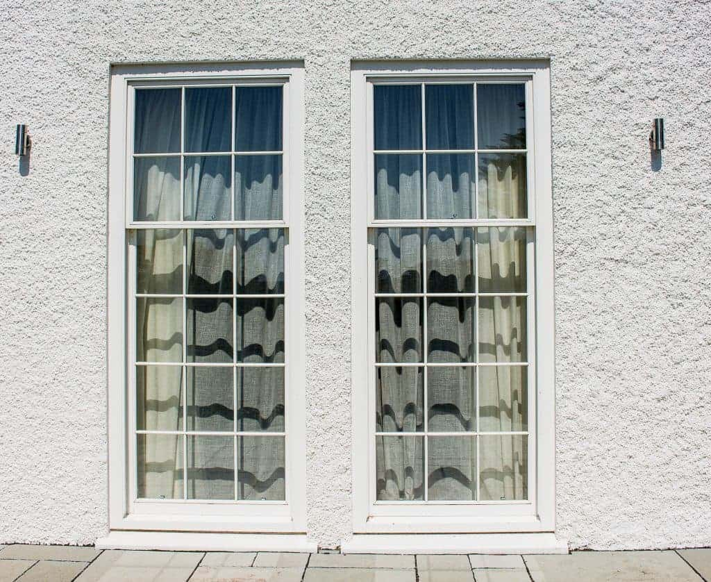 Large timber windows