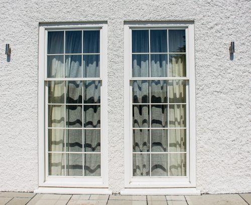 Large timber windows