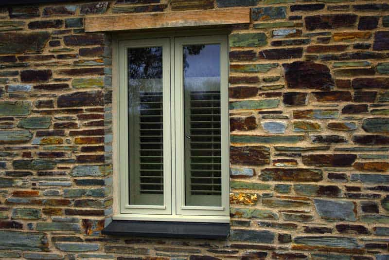 Modern Slim Timber Window