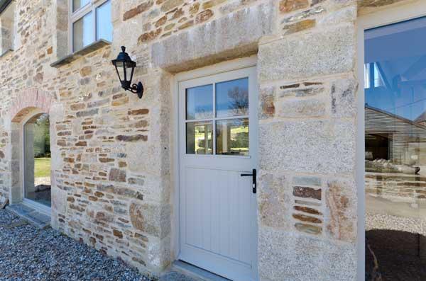 Cottage Timber Front Door