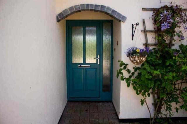 Panelled Timber Door with glass