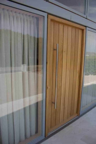 Timber Front Entrance Door
