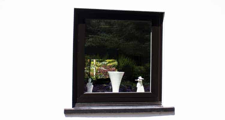 small flush casement window