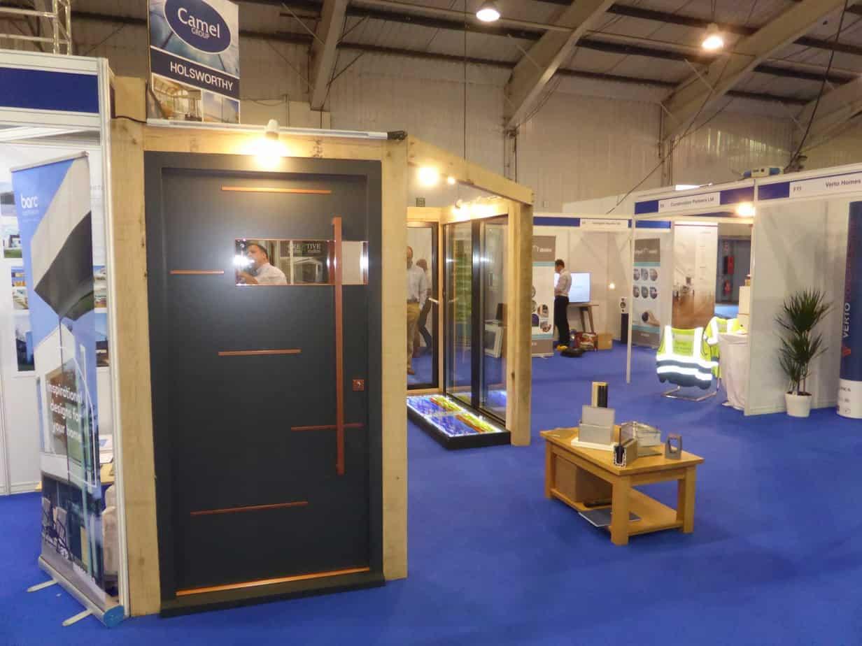 Bespoke door at self build & design show