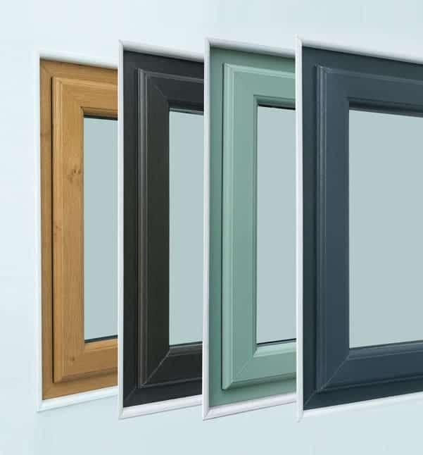 PVC Coloured Windows