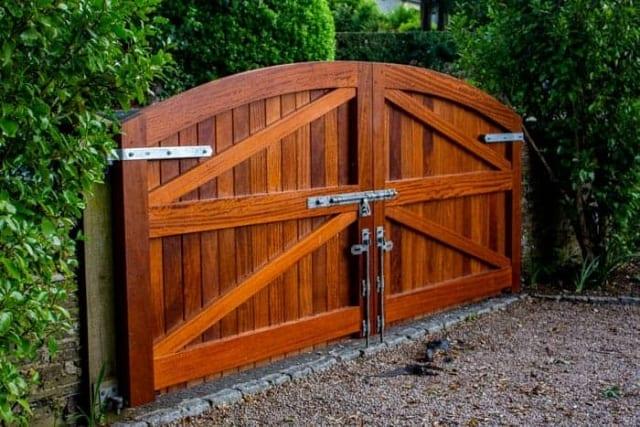 Bespoke Timber Gate