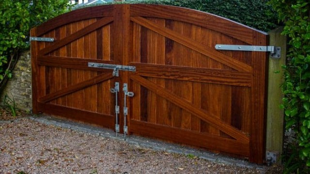 Bespoke Timber Gate
