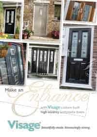 Composite door brochure cover