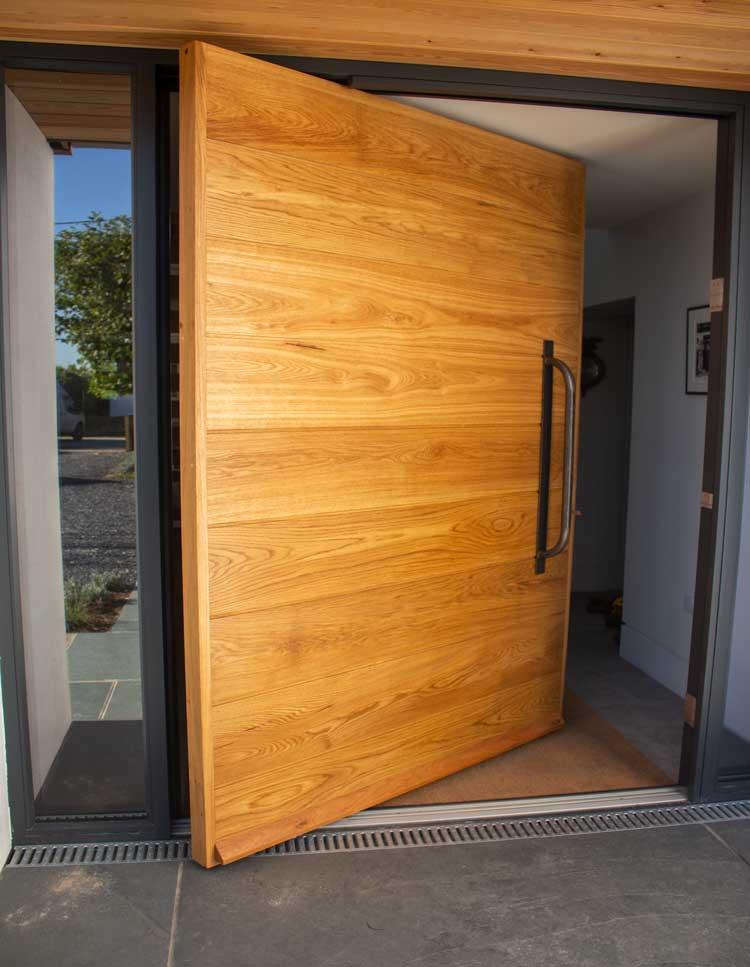 Arched Timber Door
