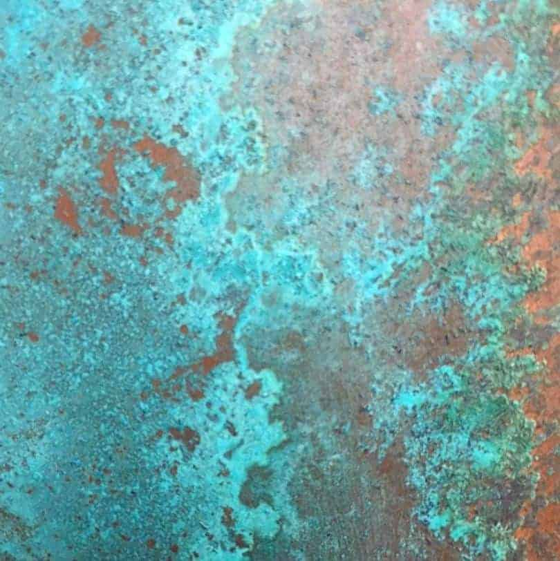 Patina Copper Finish