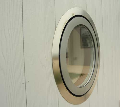 Porthole for timber door