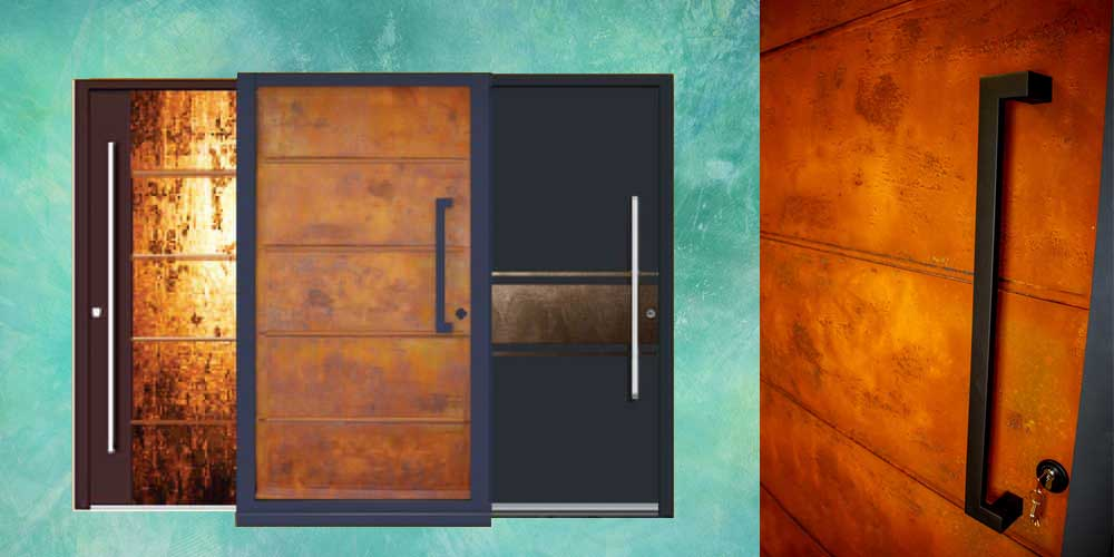 Liquid Metal Entrance Doors & Panels