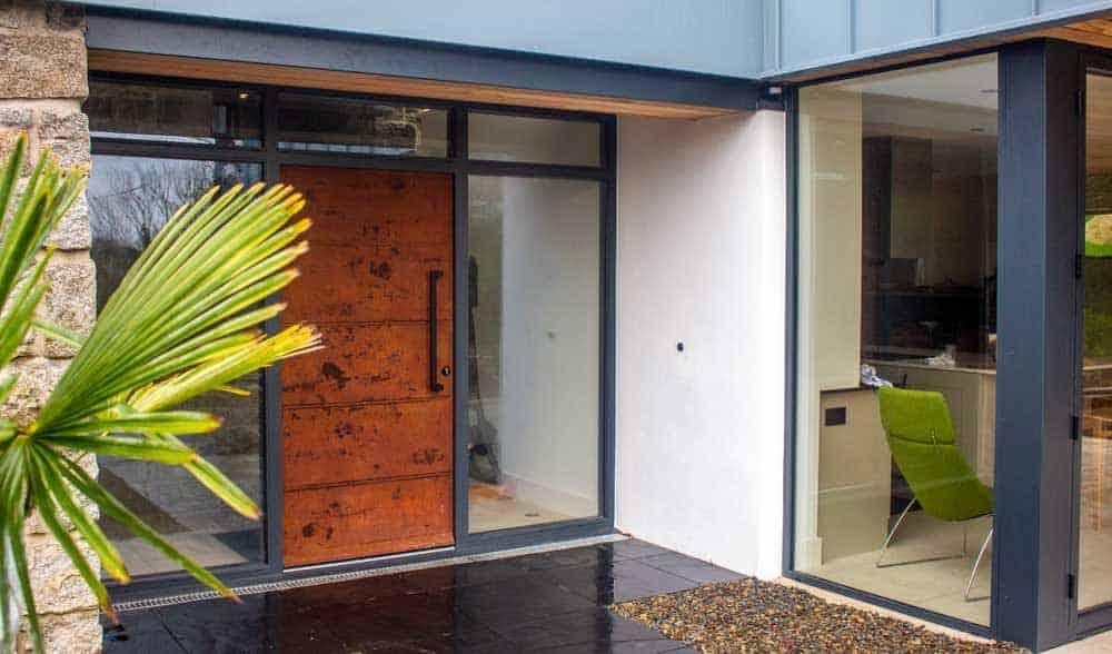 Liquid Metal Entrance Doors & Panels