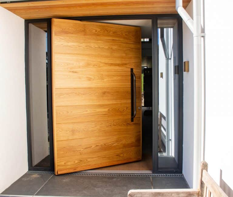 Contemporary Front Pivot Entrance Door