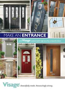 Composite door brochure cover