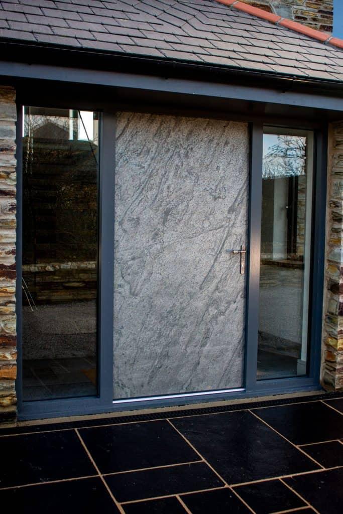 Stone Entrance Door