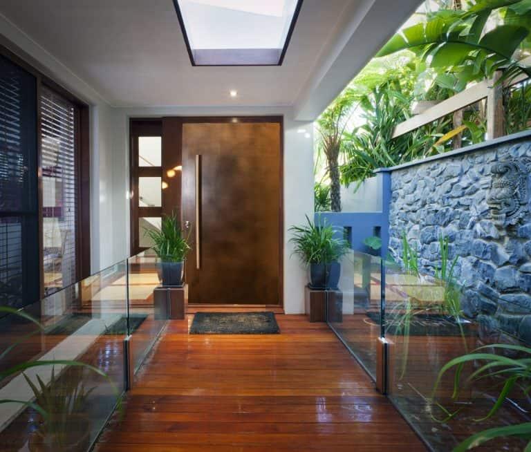 Bronze Front Entrance Door