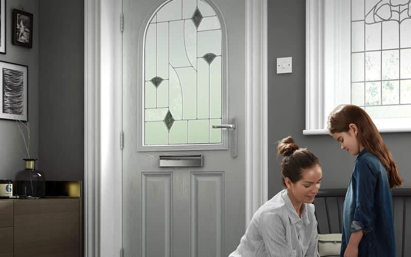 composite door glass options