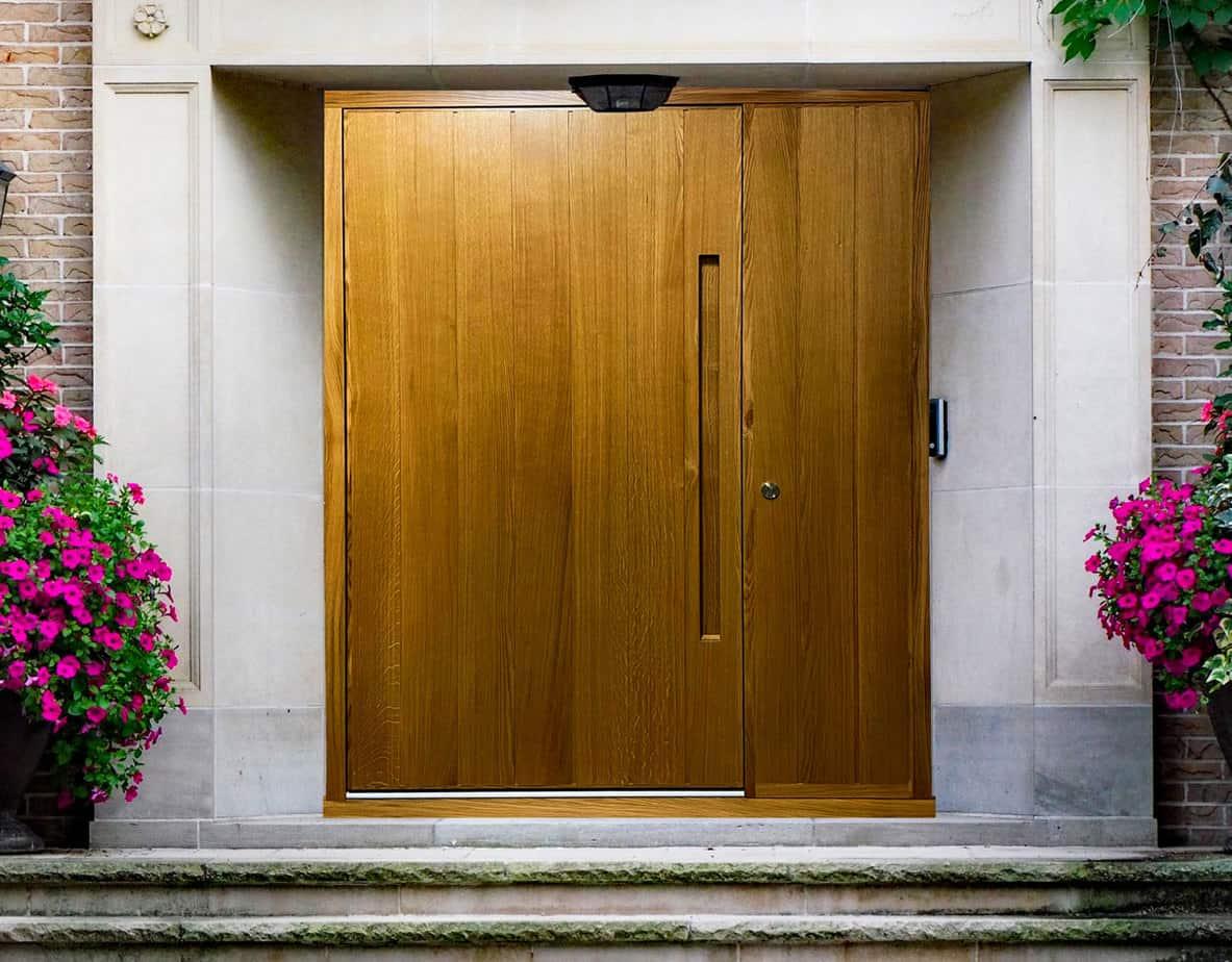 Modern Timber Door