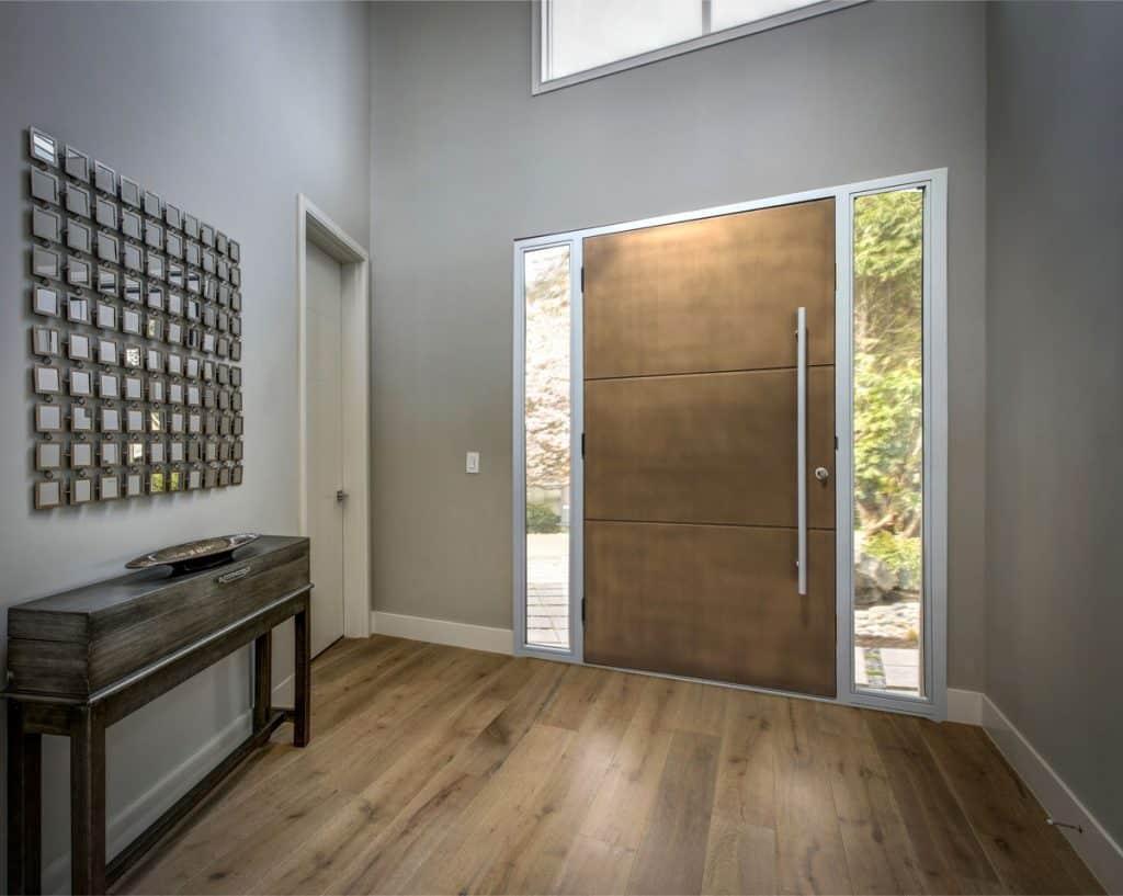 Bronze front door