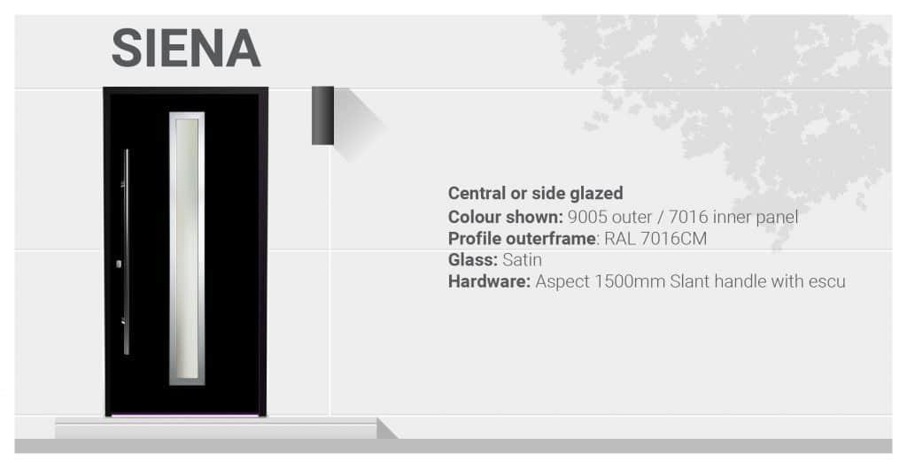 siena aluminium door specifications