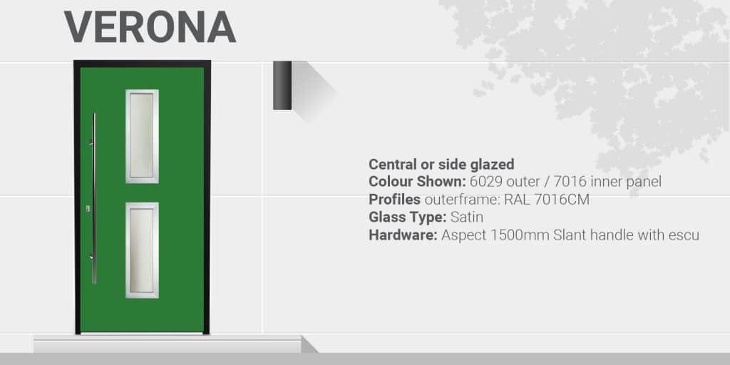verona aluminium doors specifications