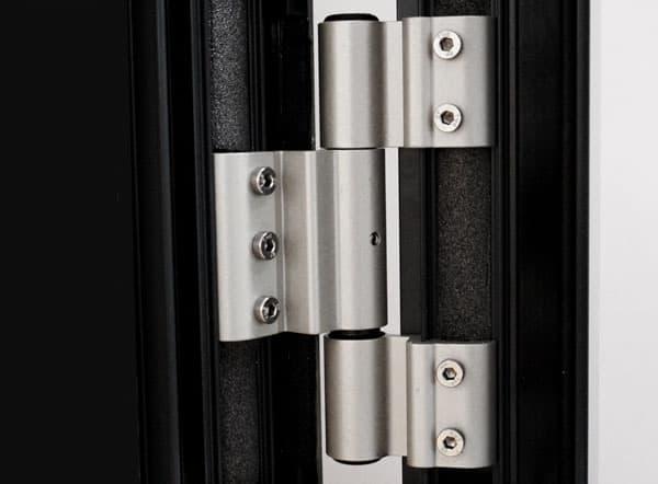 Flush Aluminium doors hinge